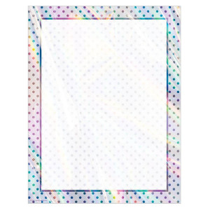 Iridescent Blank Poster