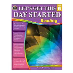 Let's Get This Day Started: Reading-Grade 6