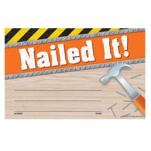 Under Construction Nailed It! Awards