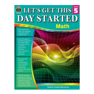 Let's Get This Day Started: Math-Grade 5