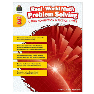 Real World Math Problem Solving Book- Grade 3