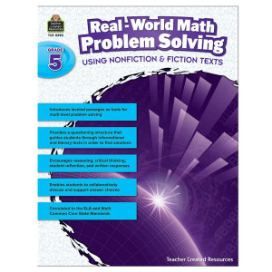 Real World Math Problem Solving Book- Grade 5