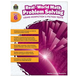 Real World Math Problem Solving Book- Grade 6