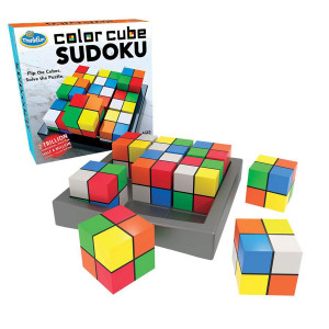 Color Cube Sudoku Game