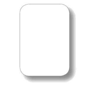 White Pocket Chart Cards