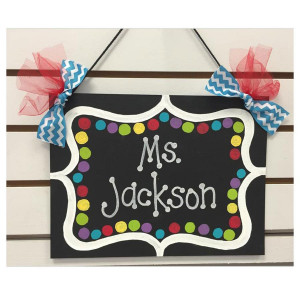 Black & White Fancy Personalized Board