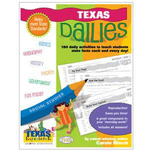 Texas Dailies Book