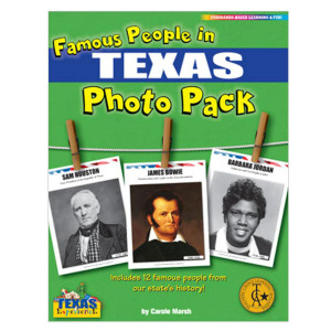 Famous People in Texas Photo Pack