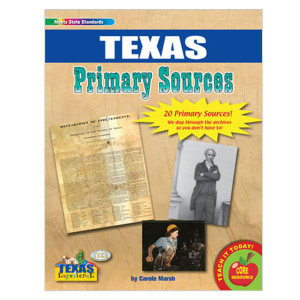 Texas Primary Sources Resource Pack