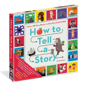 How to Tell Story Book and Blocks