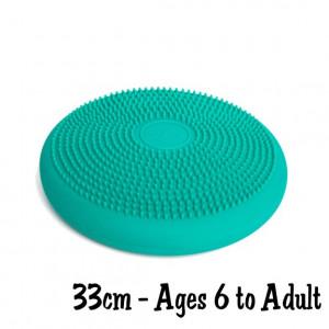 Teal Green 33cm Wiggle Seat, Big Sensory Cushion