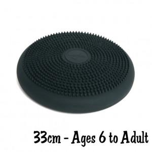 Dark Gray 33cm Wiggle Seat, Big Sensory Cushion