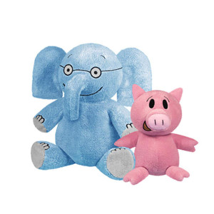 Elephant & Piggie Plush
