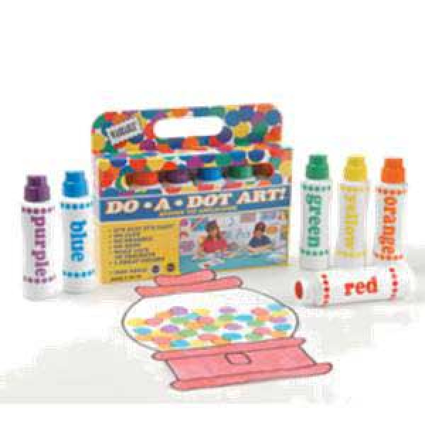 Do-A-Dot Rainbow 6 pack
