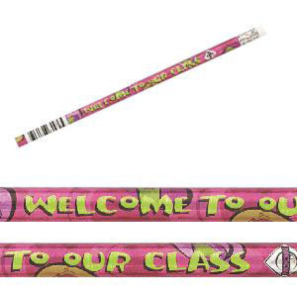 Welcome to Class Pencils-Bag of 12