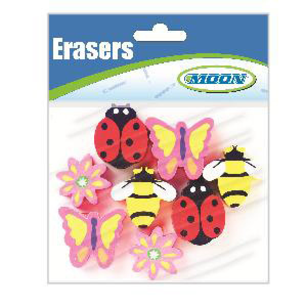 Springtime Assorted Pencil Toppers-Bag of 8