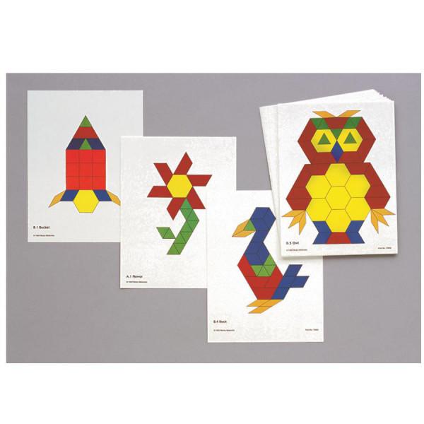 Pattern Block Activity Cards