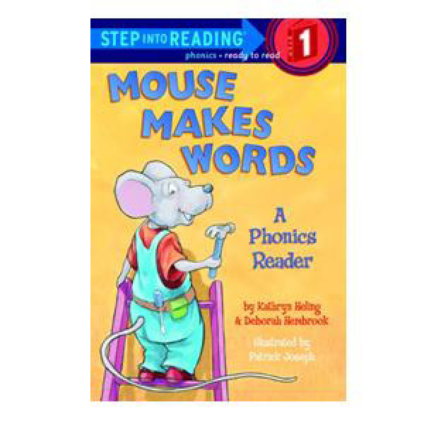 Mouse Makes Words Phonics Reader-Step 1