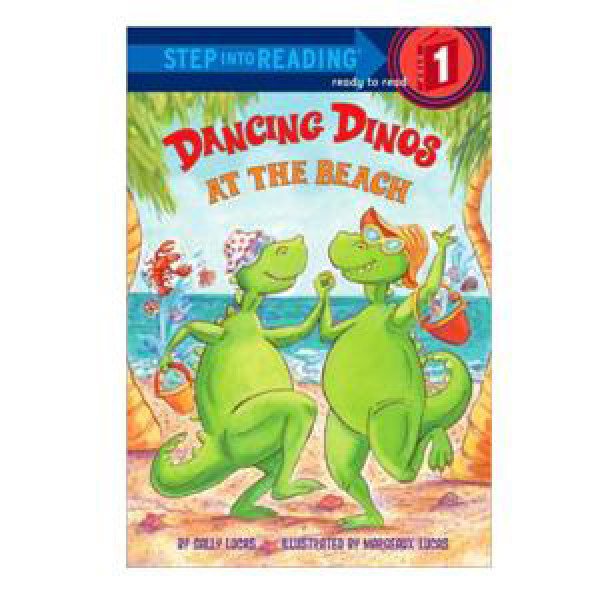 Dancing Dinos at the Beach Reader-Step 1