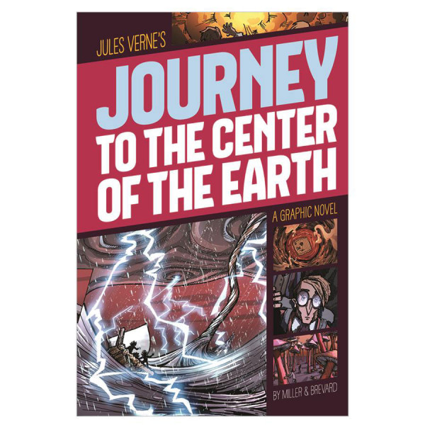 Journey to the Center of the Earth: Graphic Novel