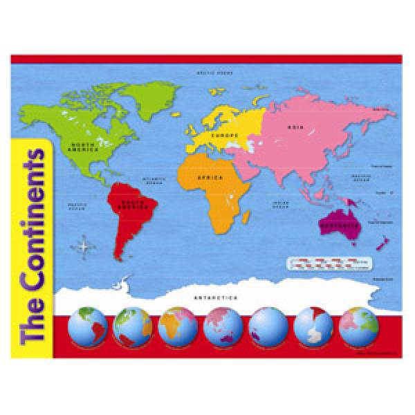 Continents map poster gumiabroncs Image collections