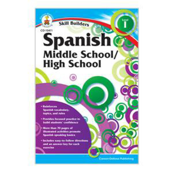 Spanish I Skill Builders Workbook 6 8 6th 7th And 8th Grades