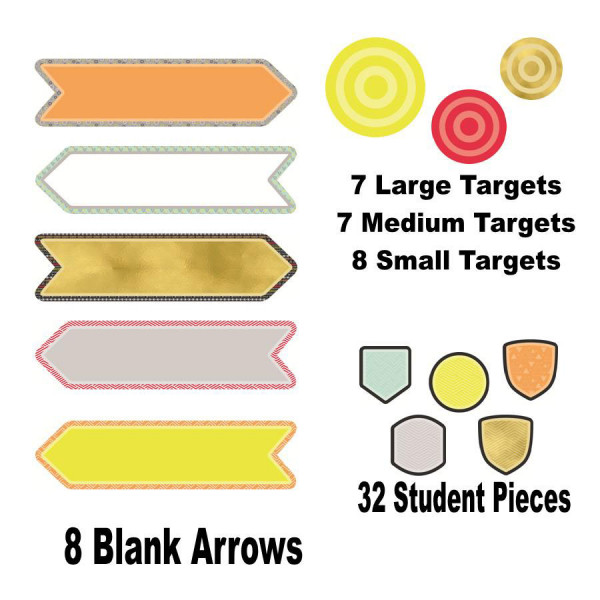 Aim High Follow Your Arrow Mini Bulletin Board