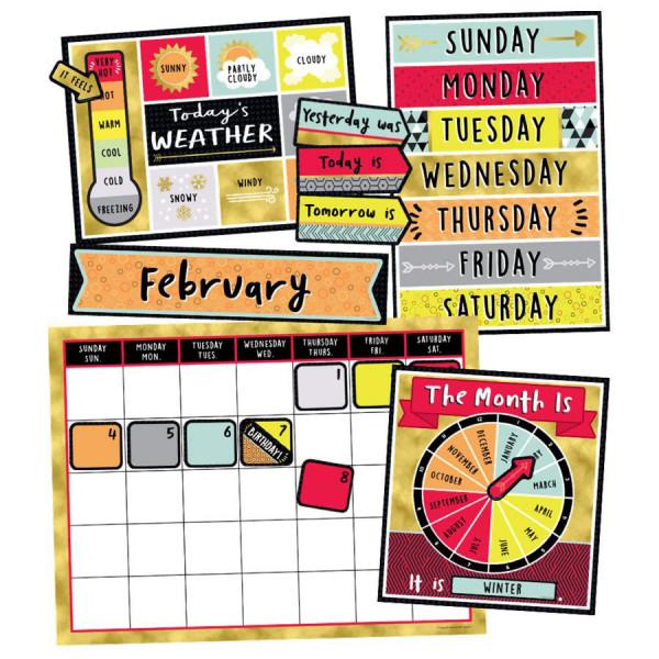 Aim High Calendar Bulletin Board