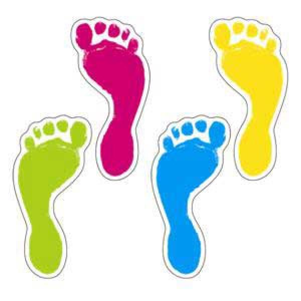 Footprints Cut-Outs