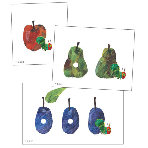 The Very Hungry Caterpillar Learning Cards