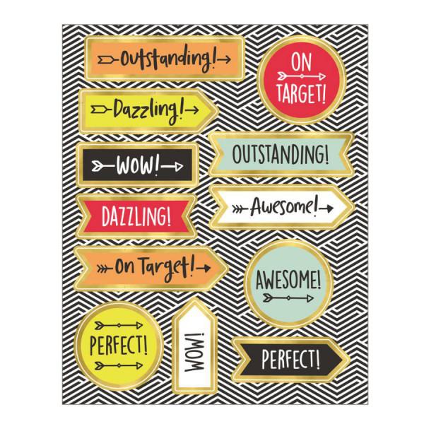 Aim High Motivators Stickers