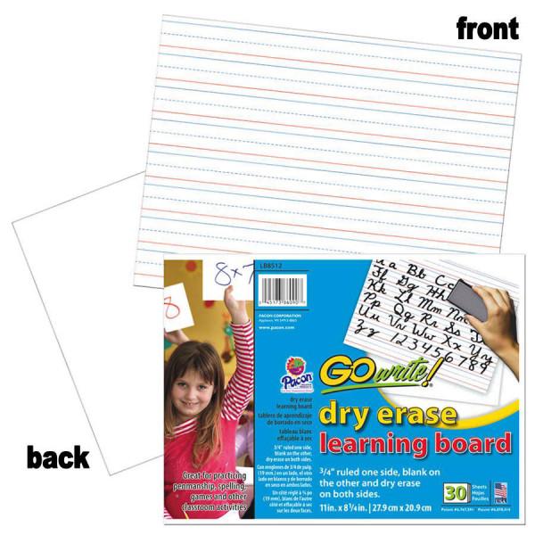 Go Write! Dry Erase Learning Board