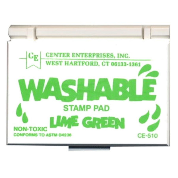 Lime Green Washable Stamp Pad