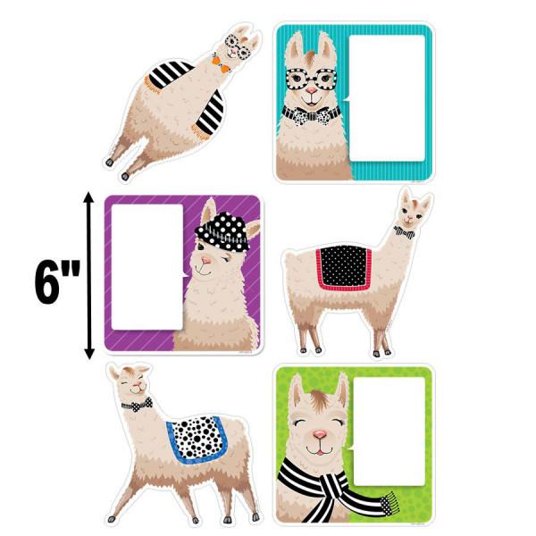 """Llamas Bold & Bright 6"""" Cut-Outs"""