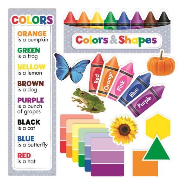 Colors & Shapes Mini Bulletin Board