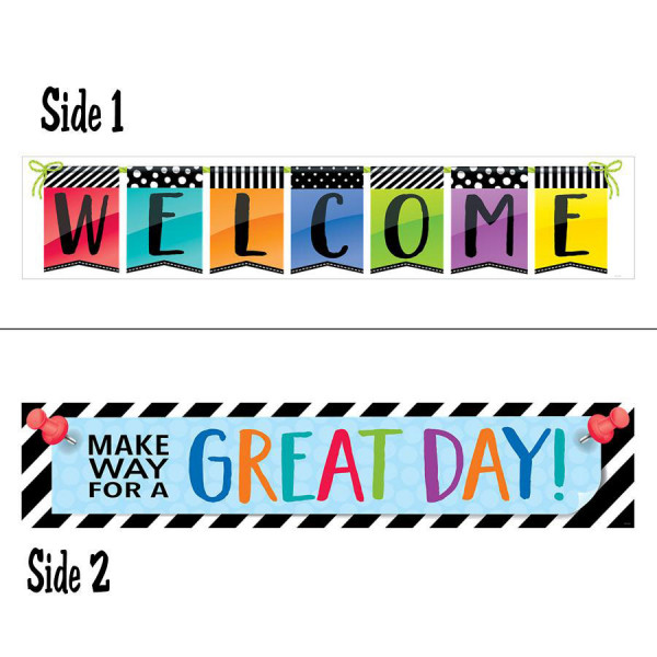 Bold & Bright 2-Sided Banner