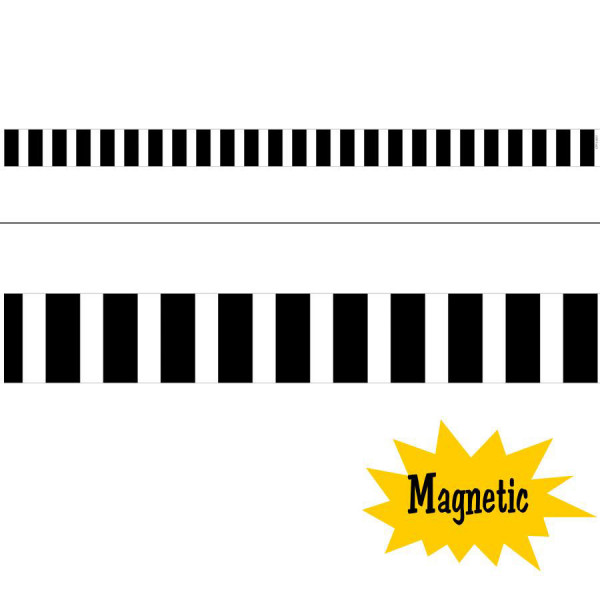 Bold & Bright Bold Stripes Magnetic Border