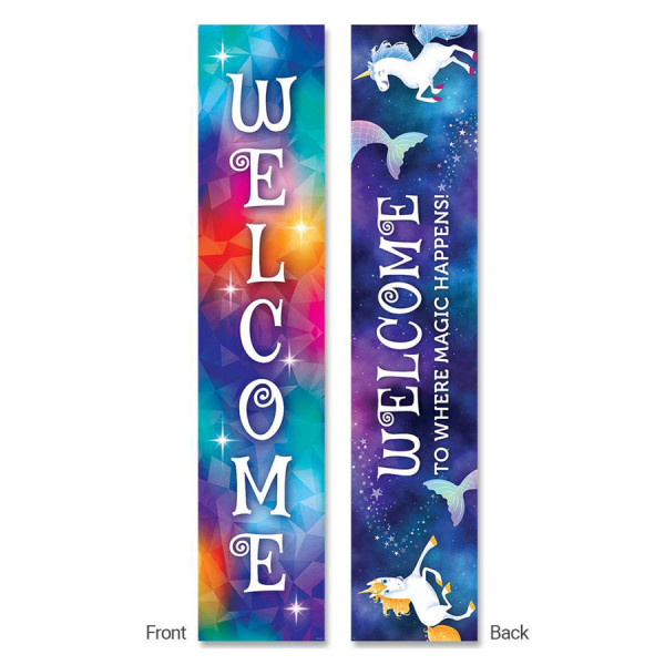 Mystical Magical Welcome 2-Sided Banner