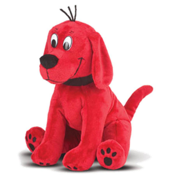 "11"" Sitting Clifford Cuddle Pal"