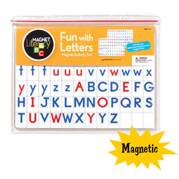 Fun with Letters Magnets