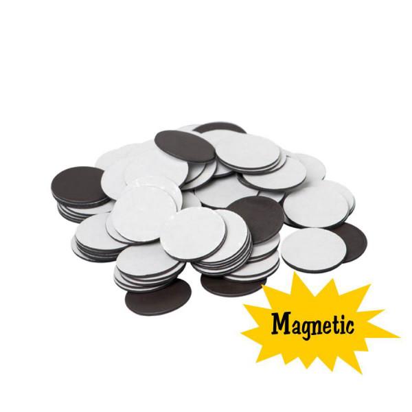 "Magnetic Dots - Set of 100 3/4"" Dots"