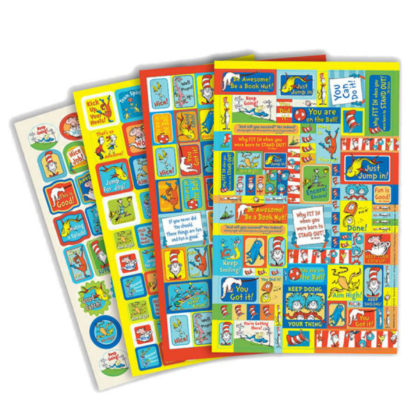 Dr Seuss Awesome Stickerbook
