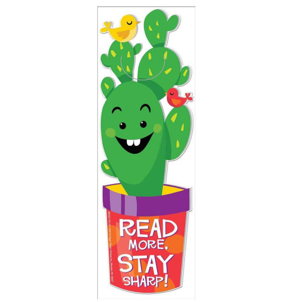 Sharp Bunch Bookmark - Read More, Stay Sharp!