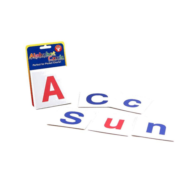 Alphabet Cards-Upper Case & Lower Case