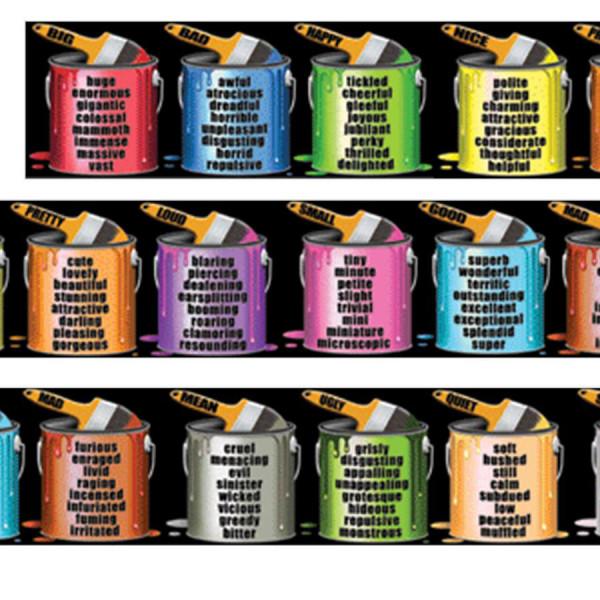 Brighten Your Vocabulary Chalkboard Topper BB