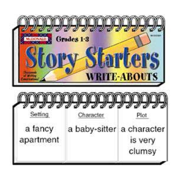 Story Starters Write-About 1-3