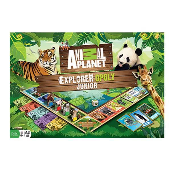 Animal Planet Explorer Opoly Junior Game