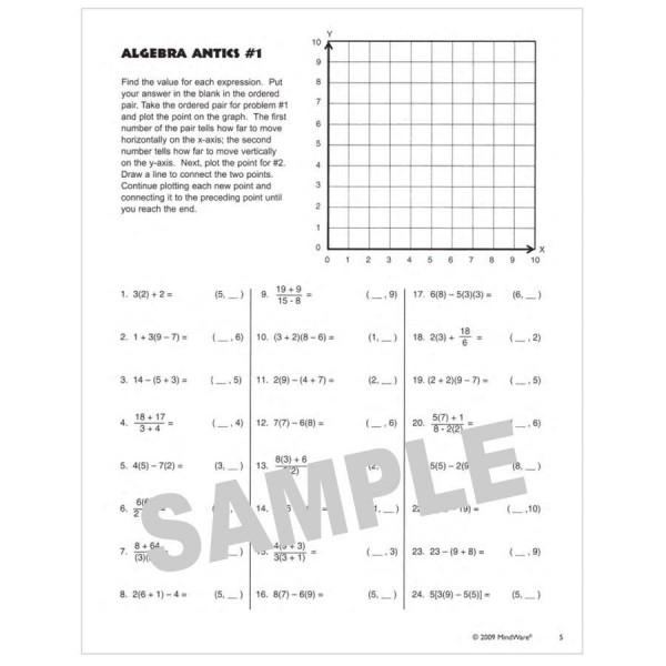 mw42030w_Sample Math Antics Worksheet Answers on short o sound worksheets, math antics multiplication, graphing dr. seuss worksheets, math antics games, math antics graphs,
