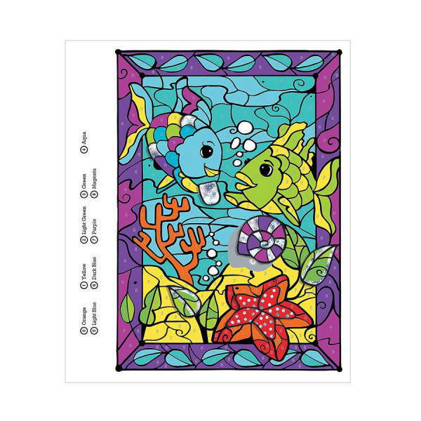 Rainbow Fish Color Counts Book
