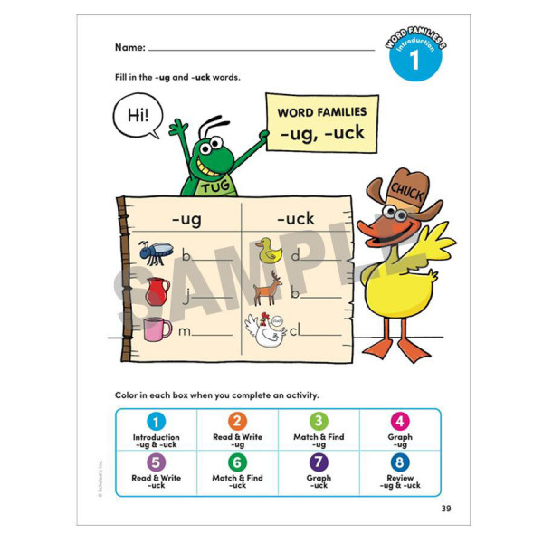 Early Learning Ready to Read Workbook-Ages 3-5
